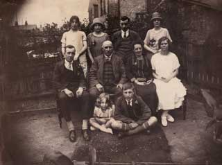 My grandparents with some of their family in 1926