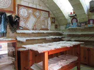 Lace Shop in Gozo