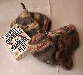 Knitting and latest book