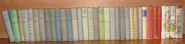 Old hardback Chalet School books