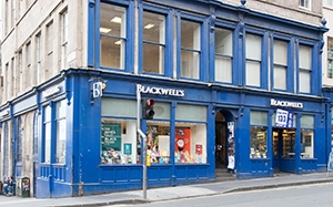 Blackwells Bookshop Edinburgh