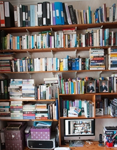 One wall of my library