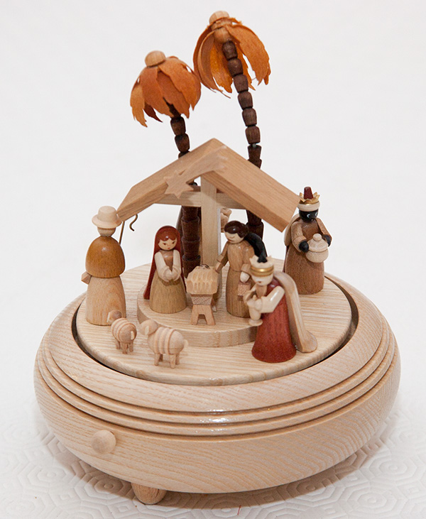 Nativity carousel