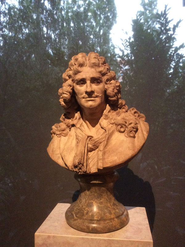 Moliere bust